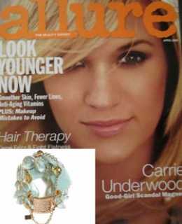 Aquamarine Siren as seen in Allure Magazine