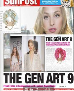 B.RAWLINGS Gen Art's Fresh Face in Fashion