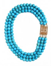 Blue of Mykonos Necklace