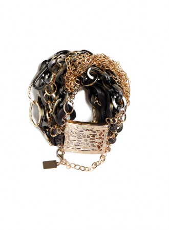 Rocker Chains Bracelet