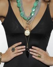 Onyx Arrowhead Necklace