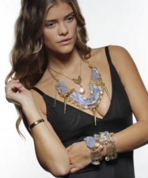 Lavender Lace Necklace & Bracelet
