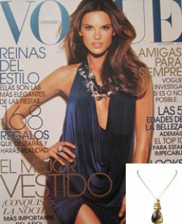 Behooved Necklace as seen in Vogue Magazine