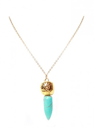 Turquoise Dagger Necklace